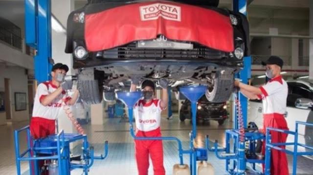 Mengganti Komponen Lama dengan Suku Cadang Toyota Sesuai Jadwal Periodik