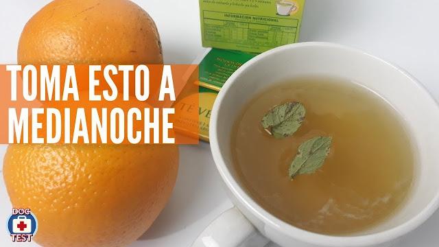 Reduce la Ansiedad, el Apetito y Quema Grasas con este Té Verde con Naranja