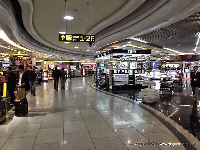 Aeroporto de Delhi: magnífico!