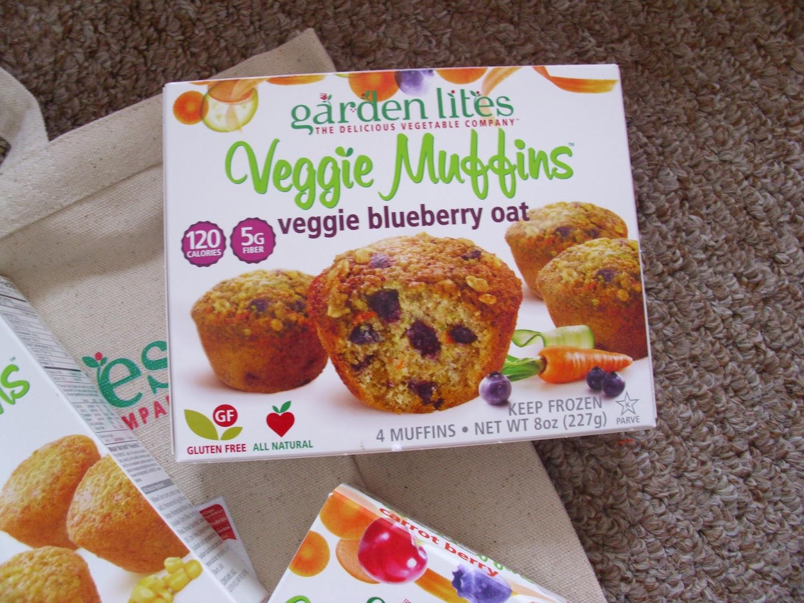 Review giveaway garden lites veggie muffins living - Garden lites blueberry oat muffins ...