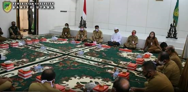 Setda Barito Utara Adakan Syukuran Peringati Idul Adha