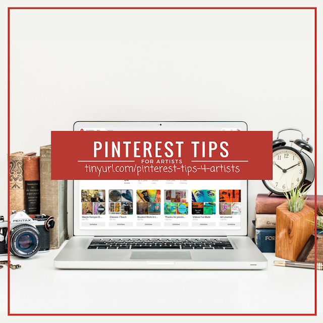 pinterest tips | how to use pinterest | pinterest for business http://schulmanart.blogspot.com/2016/09/artist-chats-pinterest-tips-for-painters.html