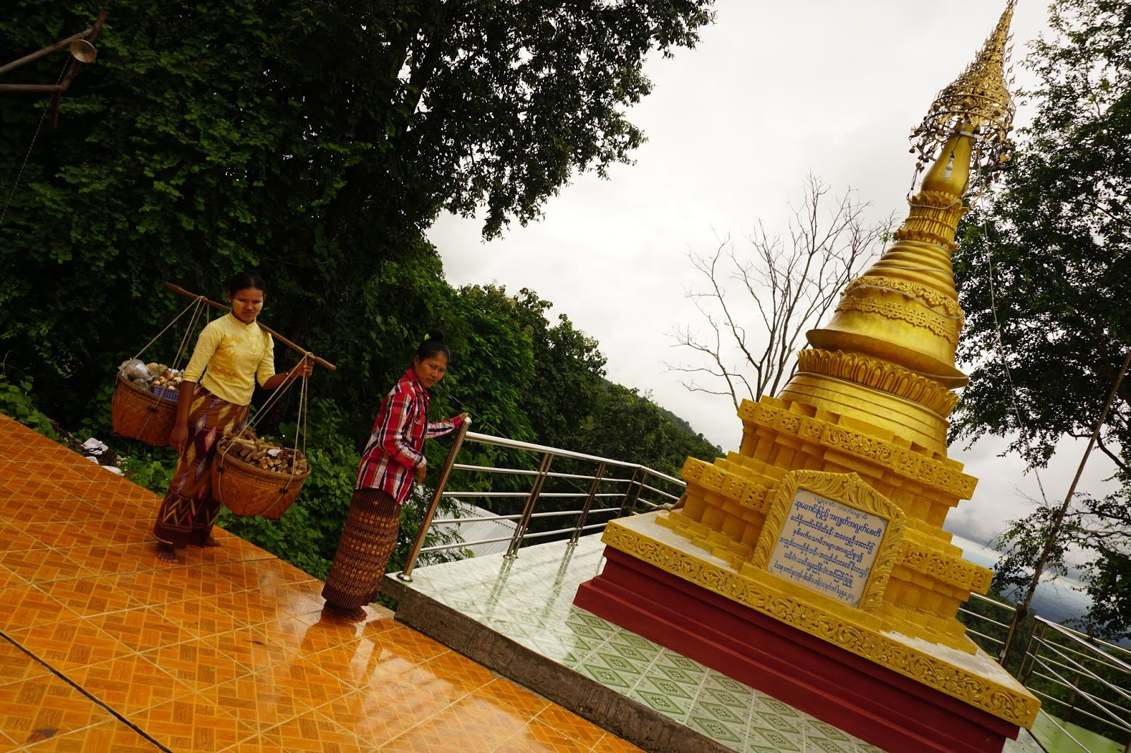 Day Trips from Bagan: A visit to Mt  Popa and Taung Kalat