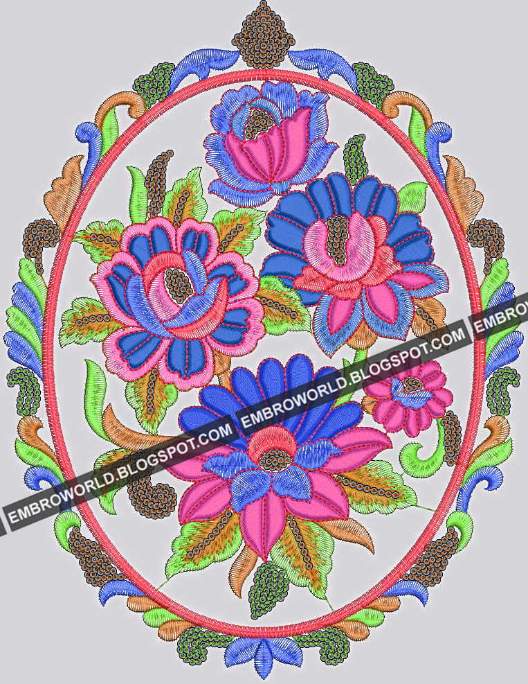 Embroidery Machine Designs For Suits