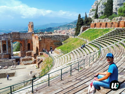 Greek Theatre, Taormina | Sicily, Italy | wayamaya