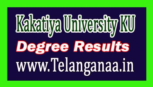 Kakatiya University (KU) Degree Supply Exam Results 2016 Available