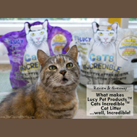 Lucy Pet Products Cats Incredible cat litter review