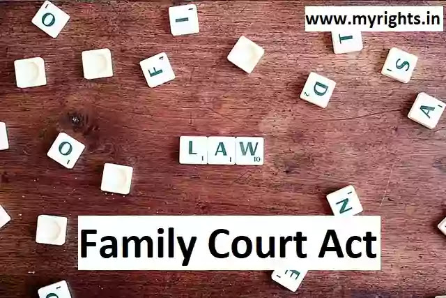 The Family Courts Act, 1984