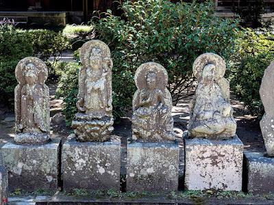 Stone images of Kannon Bosatsu; Engaku-ji