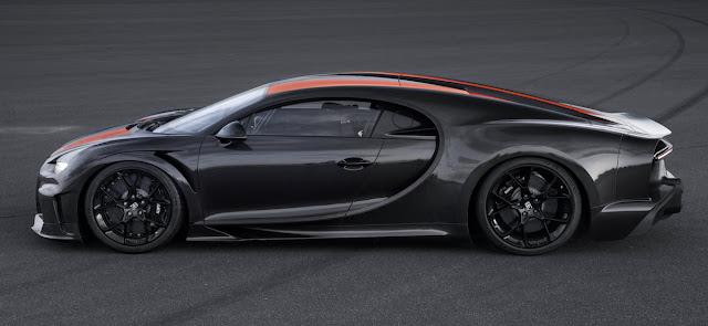 ブガッティ・シロン 世界最速記録 最高速度