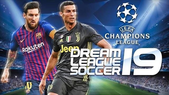 تحميل لعبة 2019 dream league score جرافك خرافي وبحجم صغير