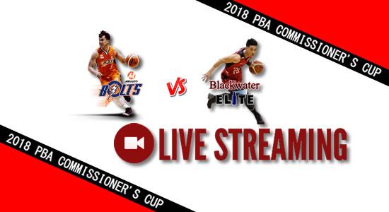 Livestream List: Meralco vs Blackwater June 15, 2018 PBA Commissioner's Cup