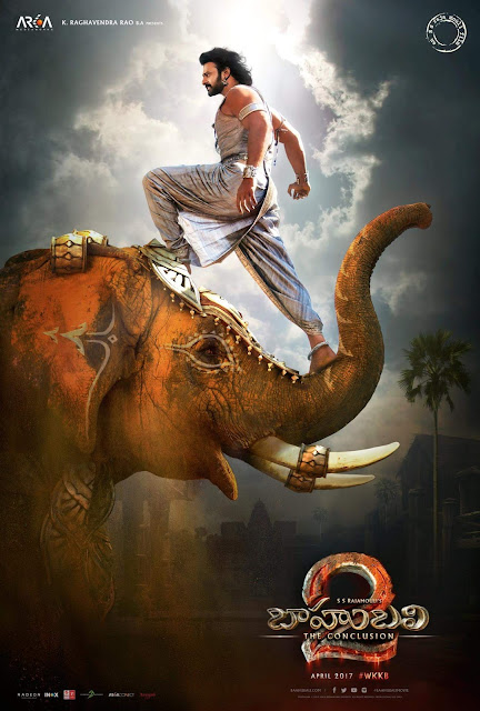 New Poster of Prabhas in Baahubali 2 on Maha Shivaratri