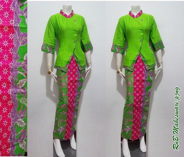 Gambar Baju Batik Kantor Wanita: Baju Batik Wanita Maheswari