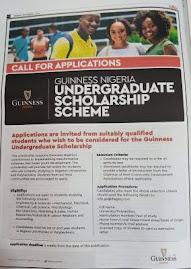 Guinness scholarship