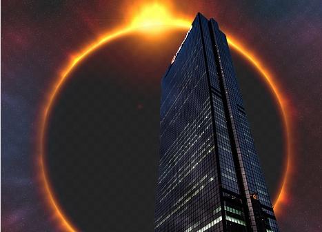 Wilayah yang bisa melihat Gerhana Matahari Cincin