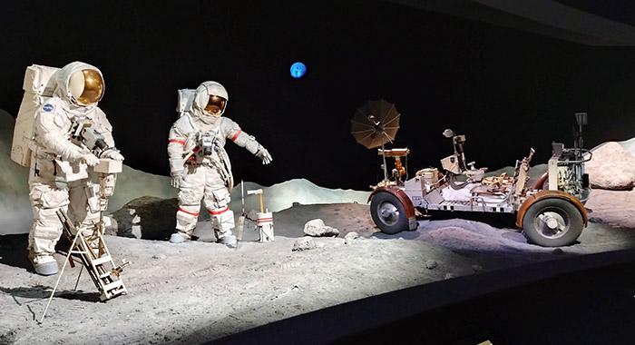 Centro Espacial en Houston