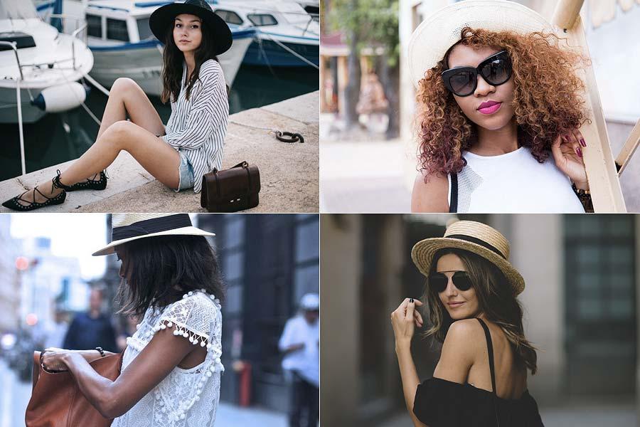 Tendência do Verão: Chapéu de Palha