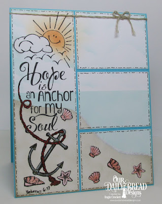 Our Daily Bread designs The Anchor, Card Designer Angie Crockett