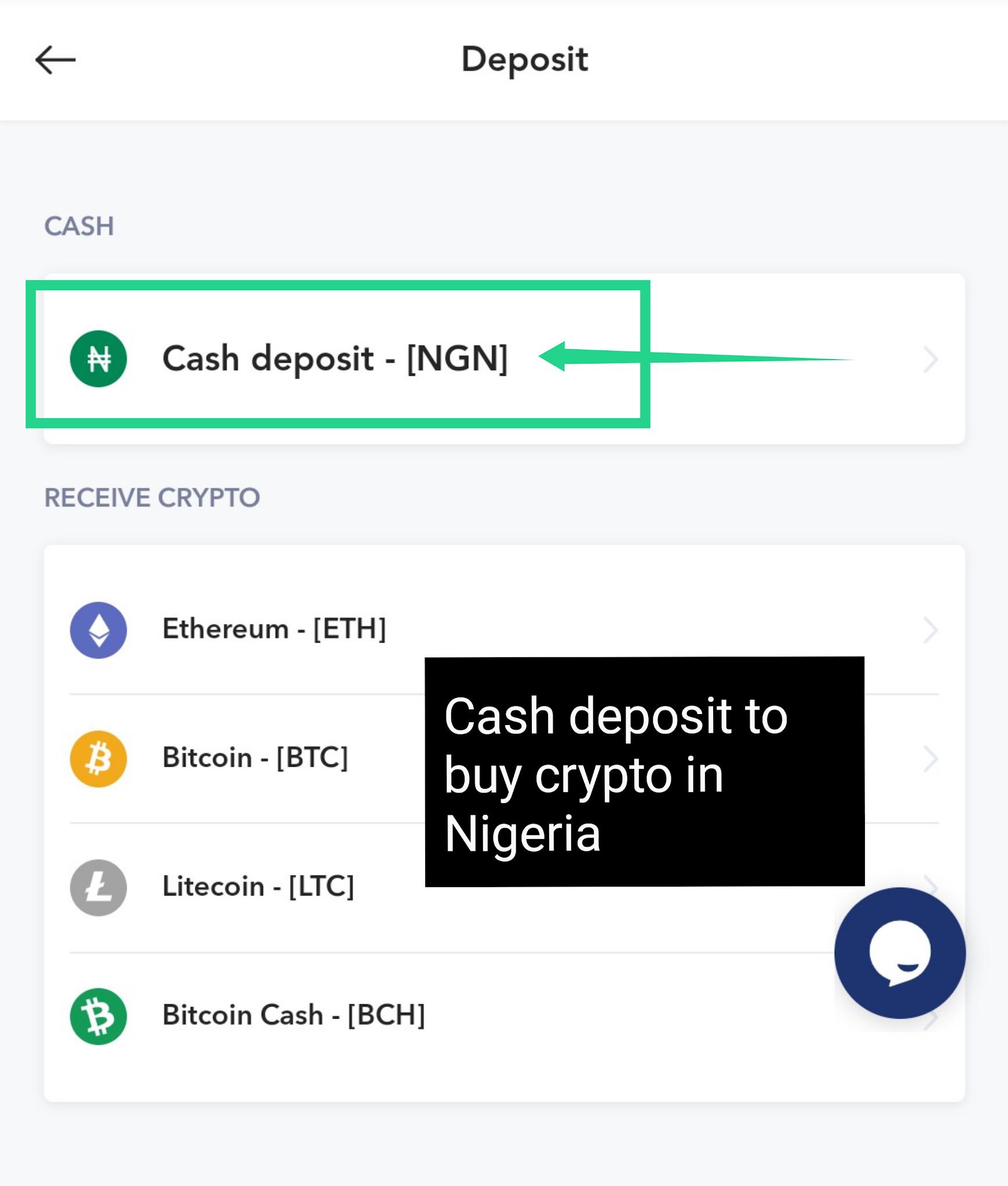 Buy crypto in Nigeria