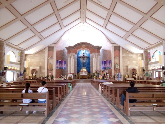 Interior of St. Rose of Lima Parish Church
