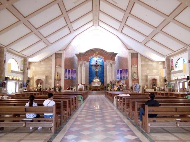 Interior of St. Rose of Lima Parish Church