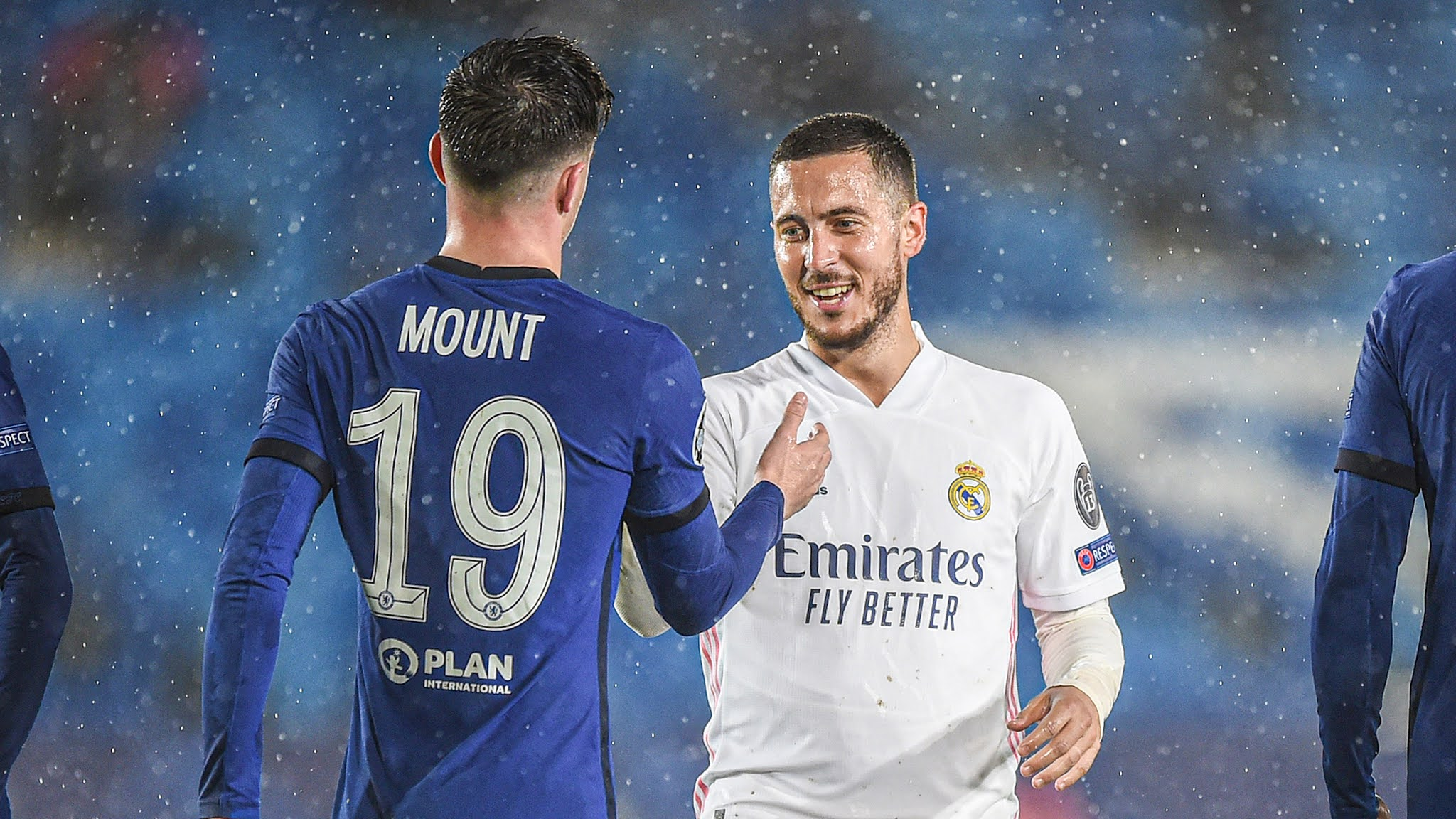 Eden Hazard makes his return to Stamford Bridge in the colours of Real Madrid