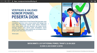 website verval ponsel