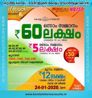 """KeralaLotteriesresults.in, """"kerala lottery result 24 1 2020 nirmal nr 157"""", nirmal today result : 24/1/2020 nirmal lottery nr-157, kerala lottery result 24-01-2020, nirmal lottery results, kerala lottery result today nirmal, nirmal lottery result, kerala lottery result nirmal today, kerala lottery nirmal today result, nirmal kerala lottery result, nirmal lottery nr.157 results 24-1-2020, nirmal lottery nr 157, live nirmal lottery nr-157, nirmal lottery, kerala lottery today result nirmal, nirmal lottery (nr-157) 24/1/2020, today nirmal lottery result, nirmal lottery today result, nirmal lottery results today, today kerala lottery result nirmal, kerala lottery results today nirmal 24 1 20, nirmal lottery today, today lottery result nirmal 24-1-20, nirmal lottery result today 24.1.2020, nirmal lottery today, today lottery result nirmal 24-1-20, nirmal lottery result today 24.01.2020, kerala lottery result live, kerala lottery bumper result, kerala lottery result yesterday, kerala lottery result today, kerala online lottery results, kerala lottery draw, kerala lottery results, kerala state lottery today, kerala lottare, kerala lottery result, lottery today, kerala lottery today draw result, kerala lottery online purchase, kerala lottery, kl result,  yesterday lottery results, lotteries results, keralalotteries, kerala lottery, keralalotteryresult, kerala lottery result, kerala lottery result live, kerala lottery today, kerala lottery result today, kerala lottery results today, today kerala lottery result, kerala lottery ticket pictures, kerala samsthana bhagyakuri"""