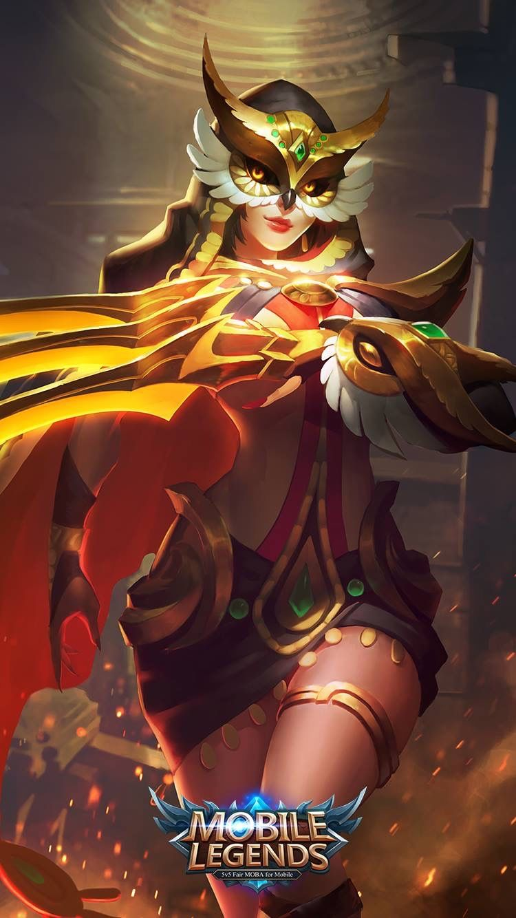 Wallpaper Natalia Mobile Legends Phantom Dancer HD for Android and iOS