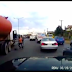 Dashcam footage showing moments preceding the tanker explosion on Otedola Bridge