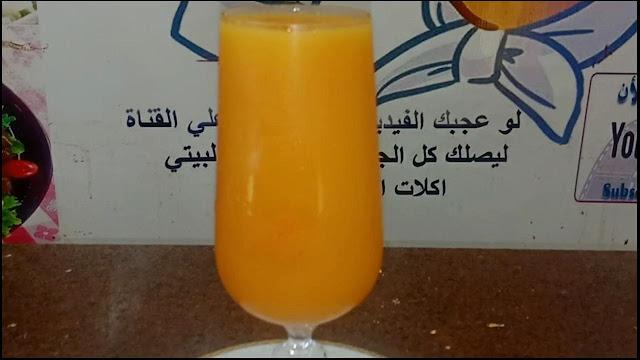 طريقة عمل عصير مانجو بالبطاطا الشيف محمد الدخميسي