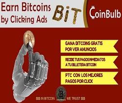 CoinBulb Gana Bitcoin Gratis ¿Qué es y Como funciona?