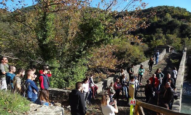 'Αρτα: Ορειβατικός Σύλλογος Άρτας-Μονοπάτι της Βίδρας - Ζεύκι 1/10/17