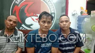 Asik Pesta Sabu, Tiga Pemuda Diamankan di Penginapan Riak Danau Tebo Ilir