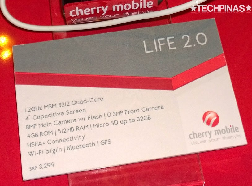 Cherry Mobile Lite 2.0, Cherry Mobile Android, Cherry Mobile