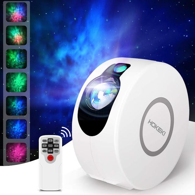 LED Night Light Laser Projector