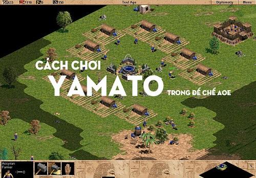 Hướng dẫn cách chơi quân Yamato chỉ trong Đế chế AOE