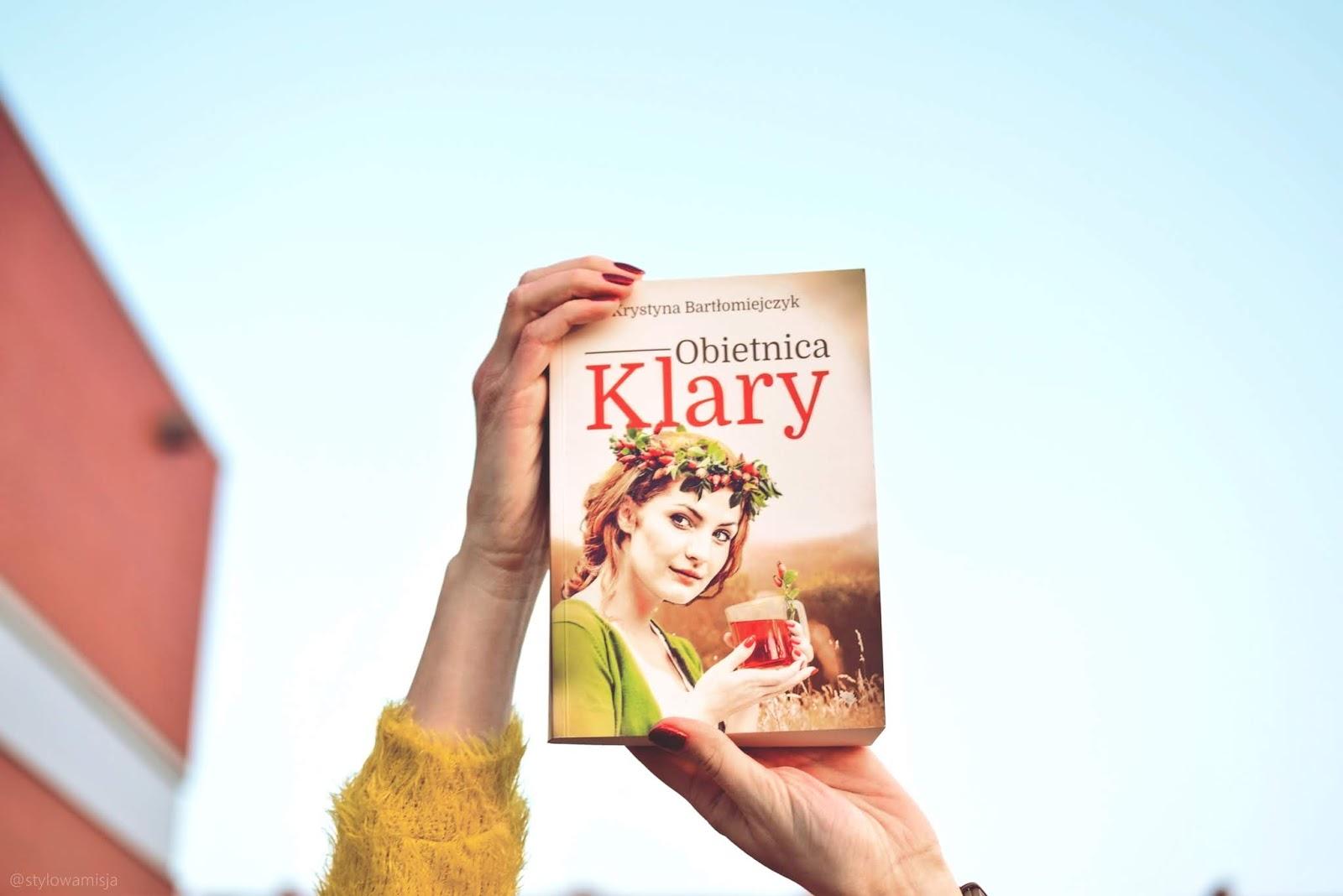 KrystynaBartłomiejczyk, ObietnicaKlary, opowiadanie, powieśćobyczajowa, recenzja, WydawnictwoProzami,