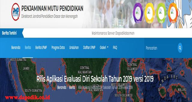 Download Aplikasi Evaluasi Diri Sekolah Tahun 2019 Versi 2019, Penjaminan Muku Pendidikan (PMP) -  Rilis Aplikasi Evaluasi Diri Sekolah Tahun 2019 Versi 2019