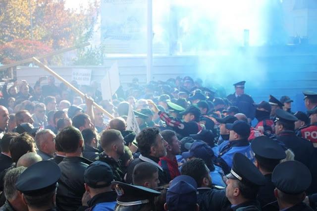 British Ambassador to Tirana Norman and Albanian President Meta call for peaceful protest