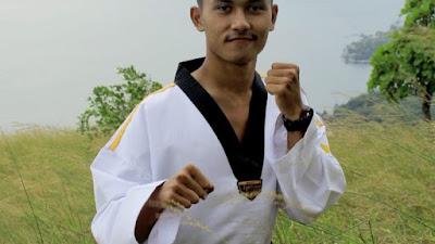 Berhasil Tembus Ajang Popnas , Afri Bertekad Jadi Atlet Taekwondo Berprestasi