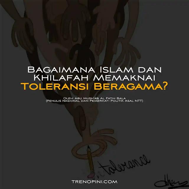 Toleransi bukan berarti berceramah di rumah ibadah agama lain. Hal tersebut bukan lah cara yang baik dan tepat untuk mendakwahkan Islam. Selain bisa saja menimbulkan fitnah, tindakan itu sangat kontraproduktif dengan dakwah Islam.