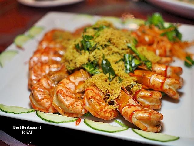 Cosmo Hotel Kuala Lumpur -Chinese New Year Menu - Buttermilk Prawns or Kam Heong Squid