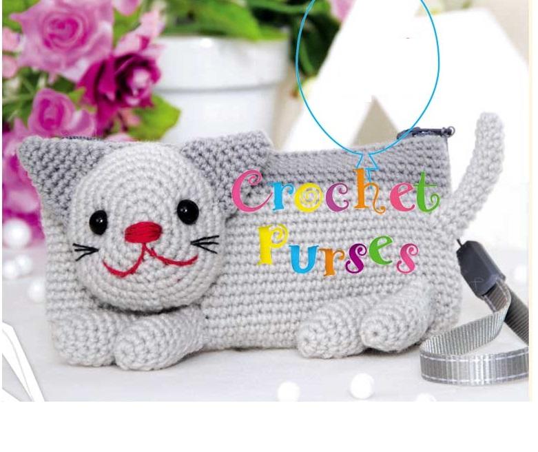 bolsos infantiles crochet, patrones para crochet