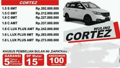 Harga Kredit Wuling Cortez Semarang