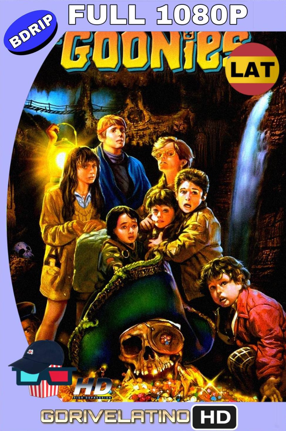 Los Goonies (1985) BDRip FULL 1080p Latino-Ingles MKV