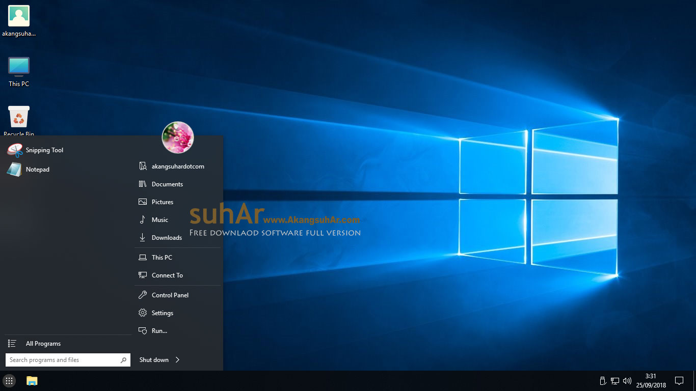 Free Download Windows 10 Pro RS4 Ultra Slim Build Full Version