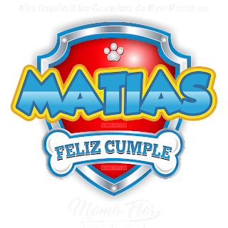 Logo de Paw Patrol: MATÍAS