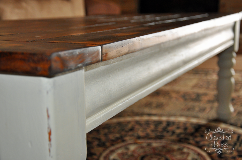 Coffee Table Redo - Cherished Bliss